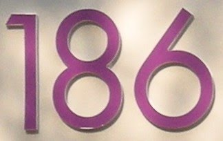 House number 186 — Stock Photo © papparaffie #23202052