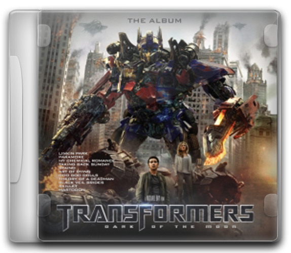 capa%2BCD Baixar CD Trilha Sonora Transformers 3 o ladooculto da lua (The Dark of the Moon Ost 2011) Ouvir mp3 e Letras .