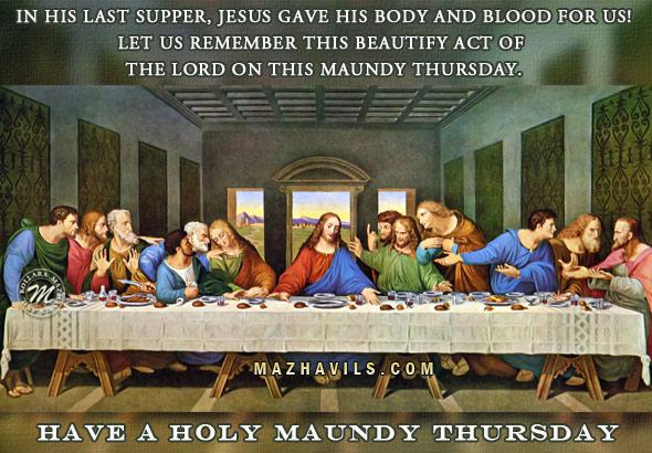 March 2013 mazhavils greetings maundy thursday m4hsunfo