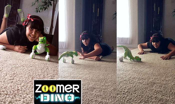 Boomer the Robotic Zoomer Dino
