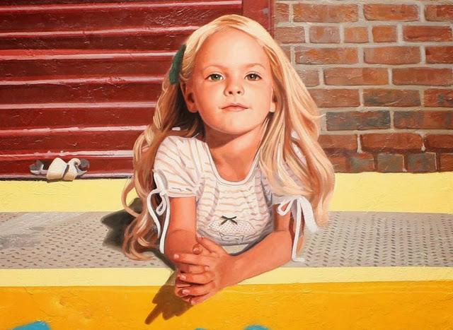 retrato-niña-pintada-al-oleo