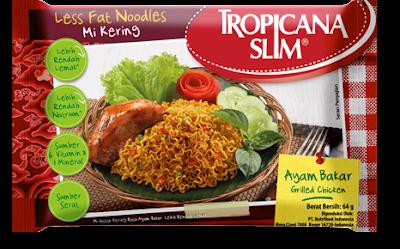Bingung Cari Makanan Untuk Diet, Santap Saja Mie Tropicana Slim