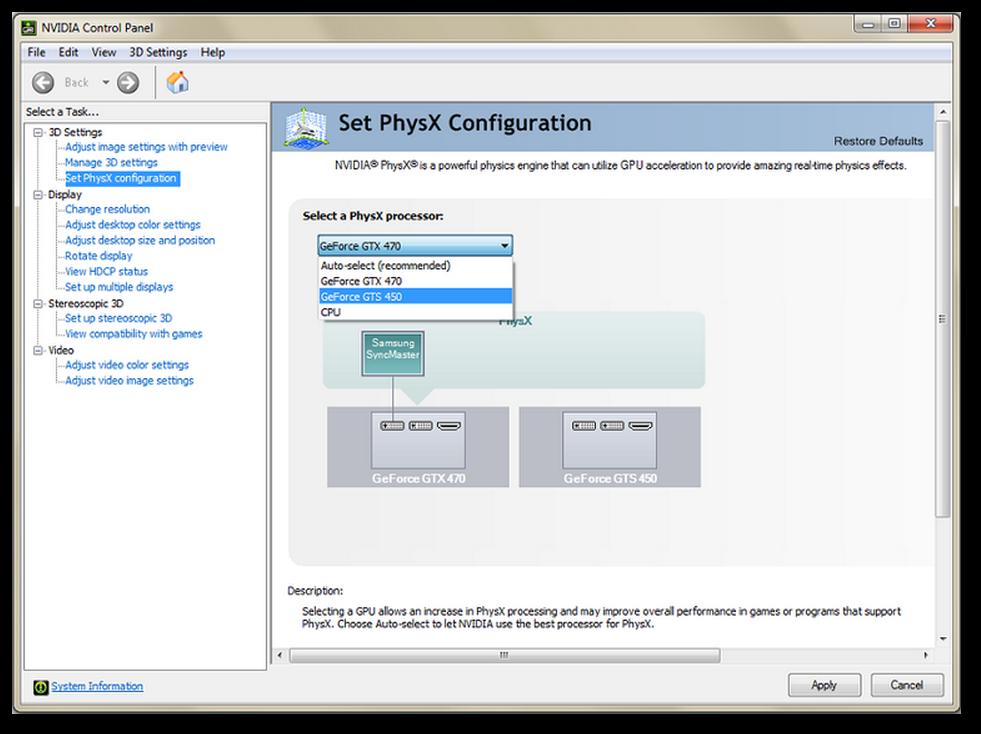 Phyzx От Nvidia