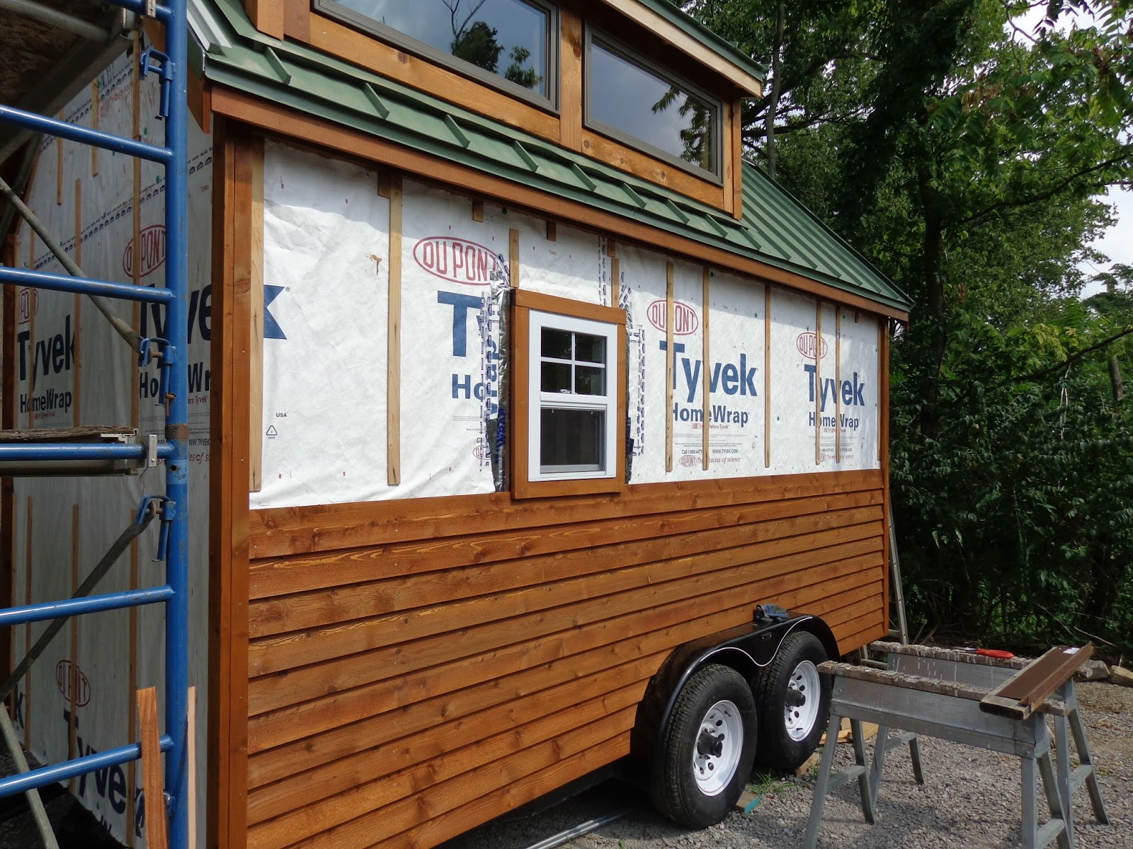 Lh Growing A Tiny House On Wheels August 2014