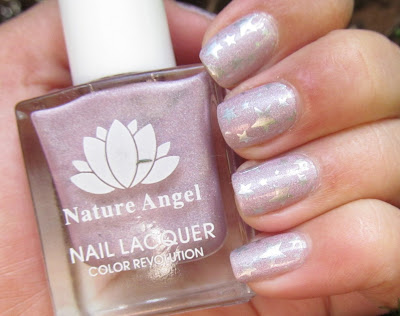 Natural angel 038 holographic lilac