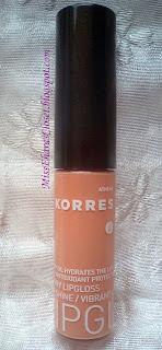 KORRES Cherry oil Lipgloss #31 Sheer Beige