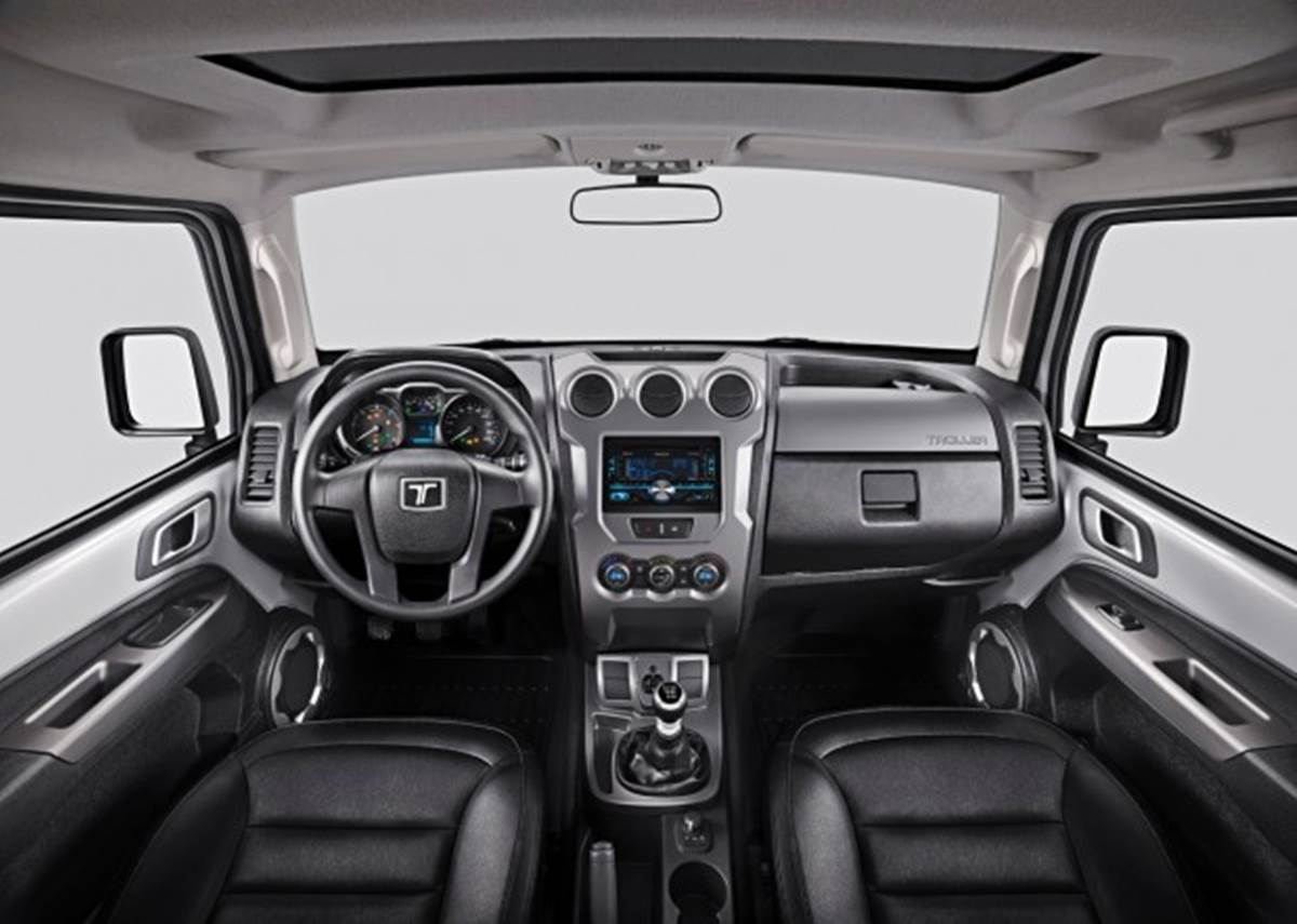 2015 Interior Ford Troller T4   2017 - 2018 Best Car Reviews