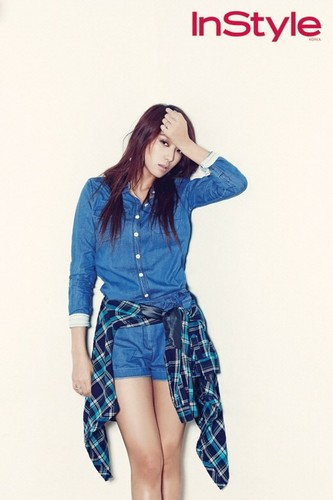 Denim and Plaid Magic by Bora