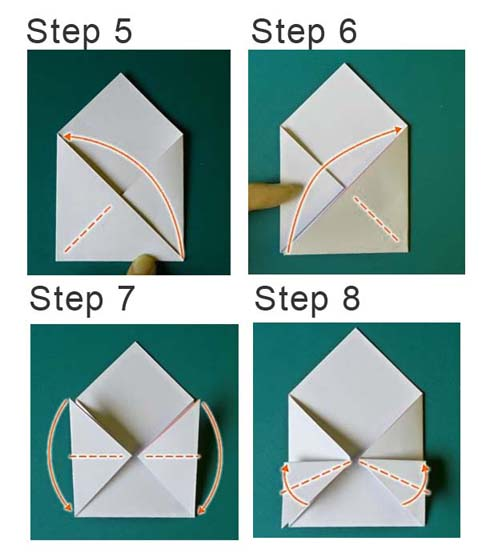 card-origami-instruction-for her