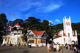 Shimla (Best Honeymoon Destinations In India) 9