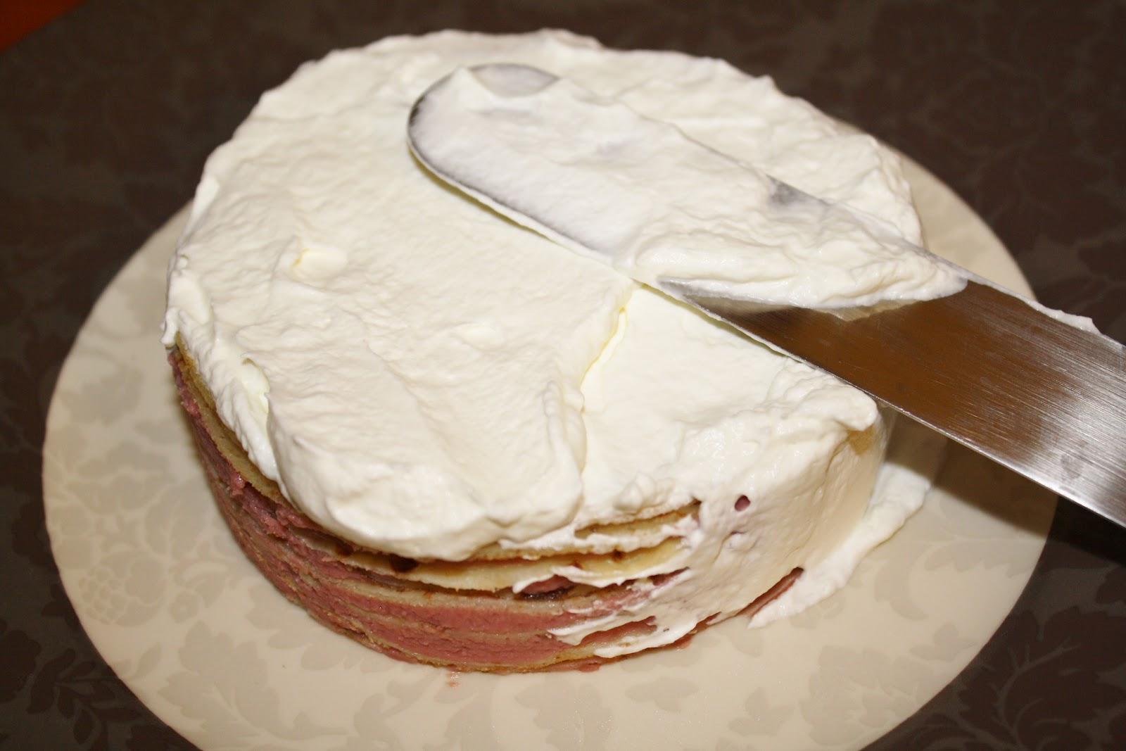 Kriket's cooking: Gâteau de crêpes goyave-coco