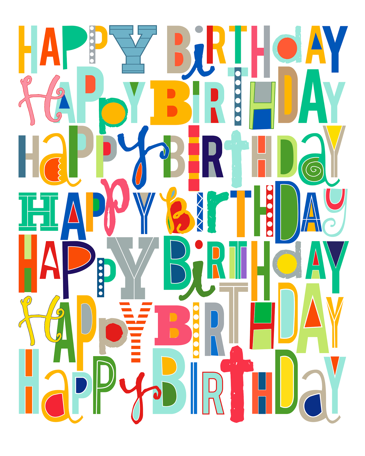 Insane image with regard to happy birthday sign printable