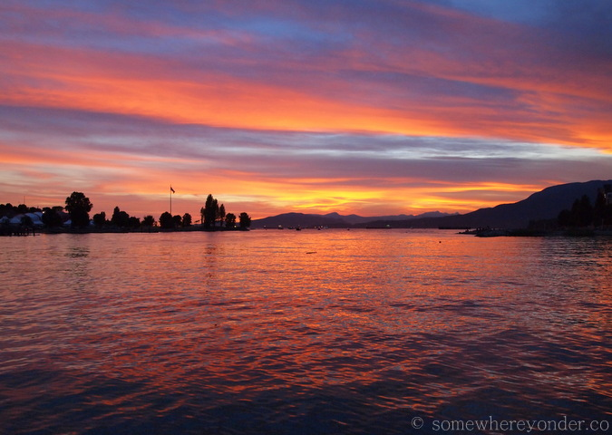 Sunset - Vancouver, Canada