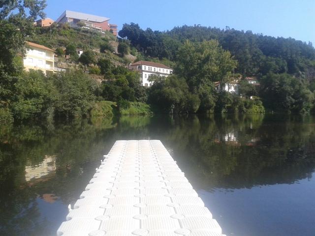 Piscina Fluvial Fluvial Quinta Barco