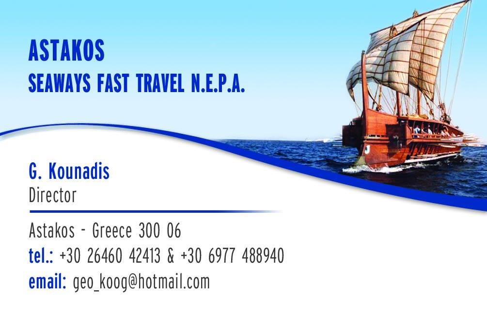 Astakos Seaways Fast Travel