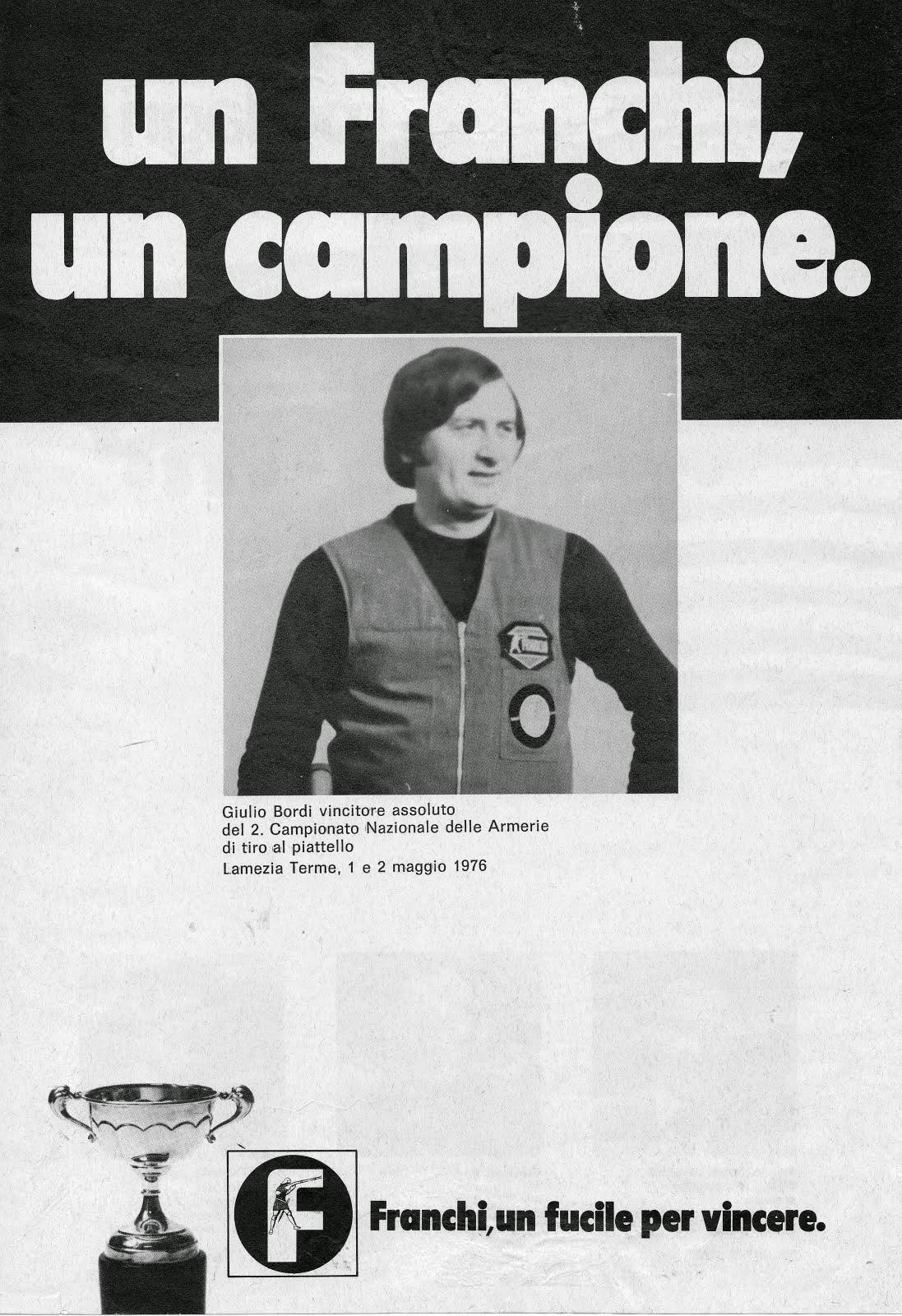 1976 - Pubblicità dell'epoca sulle riviste di settore