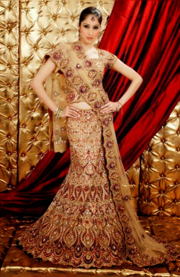 Fashion Like Picture Of Beautiful Bridal Lehnga Choli Designs For Girls
