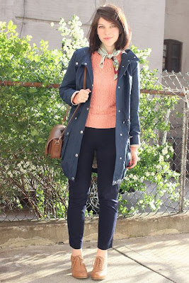 happy honey and lark, new york, street style, fall fashion, anorak