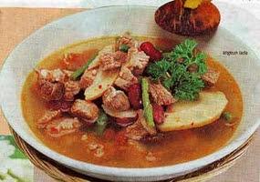 Resep Masakan Angeun Lada