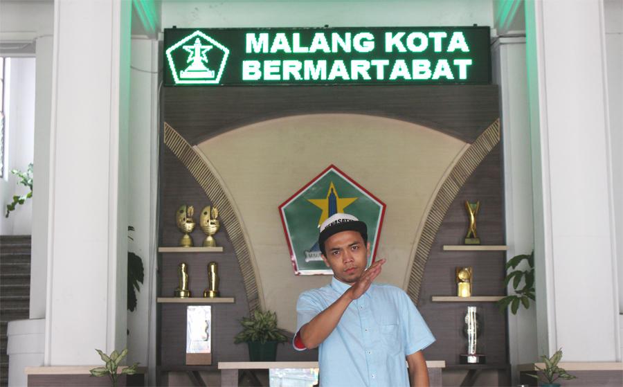 Main ke Balai Kota Malang