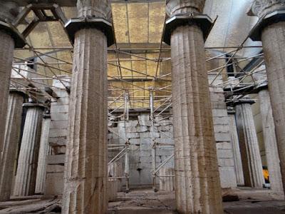 Ναός του Επικούρειου Απόλλωνα: Μεγάλο πρόβλημα στην ασφάλεια του Μνημείου
