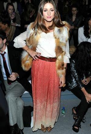 długie spódnice, spódnice, spódnice maxi, długa spódnica, street style, olivia palermo style