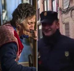 Una anciana en un país enfermo