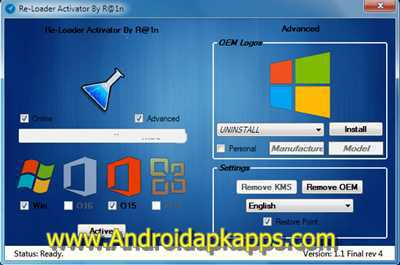 Download ReLoader 1.4 Activator All Windows and Office Terbaru 2015