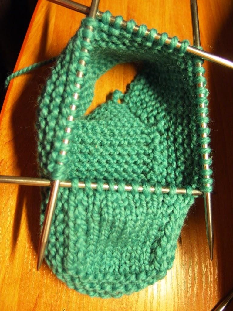 Вязание башмачков из спицами