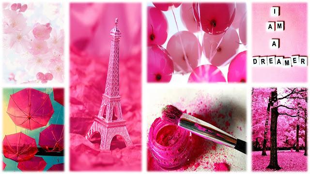 Mood Board - Pink