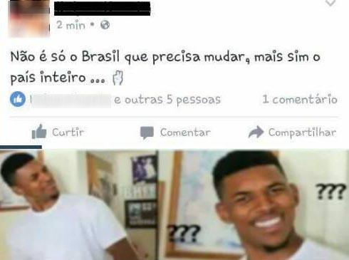 Não é só o brasil que precisa mudar