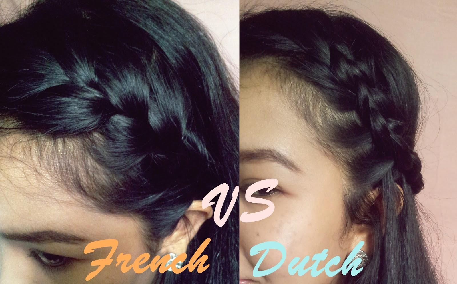 Tutorial French Braid Vs Dutch Braid Miss Princess Diaries