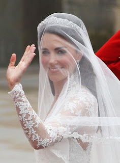 Kate Middleton and Prince Williams Royal Wedding Hairstyles