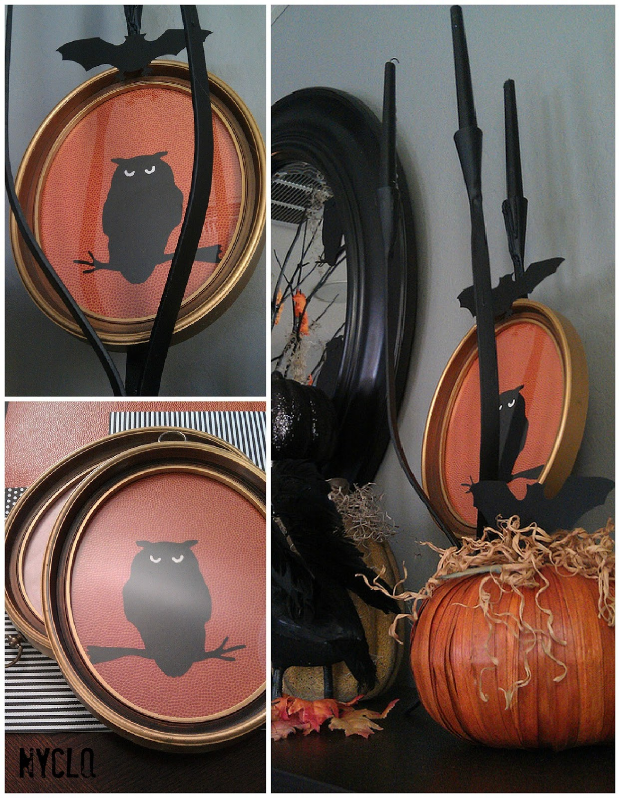 FOCAL POINT STYLINGThrifty Halloween DIY Owl Wall Art Under $6