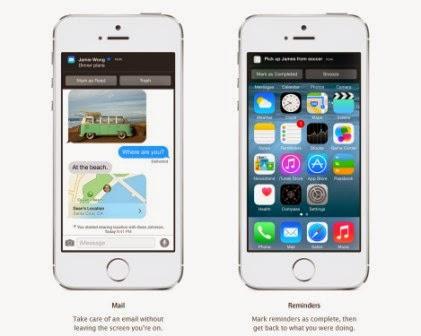 Inilah fitur baru dari iOS 8, foto dan video - New Mail fitur dan Gestures kontrol