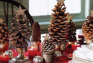 10 Ideas de Decoracion de Navidad con Piñas de Pino, I Parte