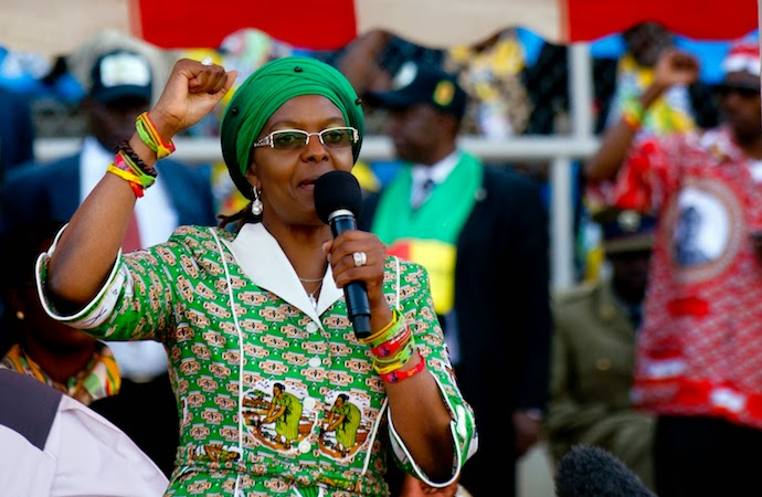 Dr Amai exposes 'corrupt' VP Mujuru: Apologise now or we kick you out