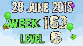 Angry Birds Friends Tournament level 6 Week 163