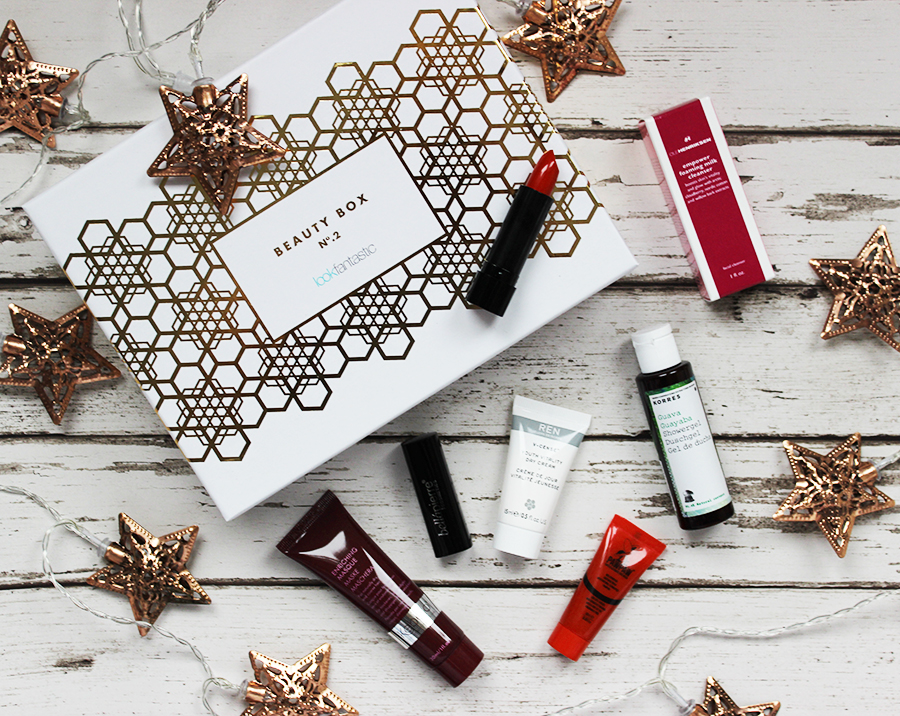 Look Fantastic beauty box review November 2015