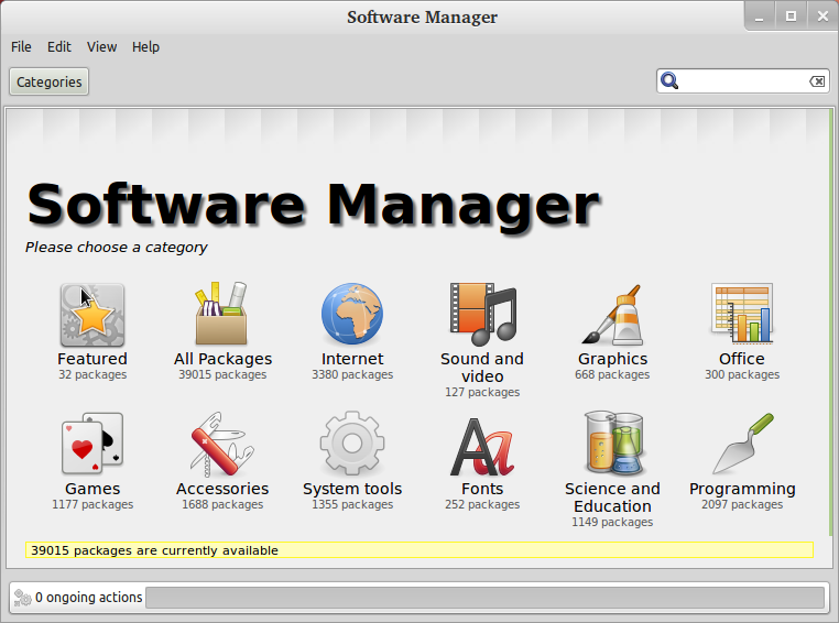 Software+Manager+in+mint Linux Mint the best Linux operating system