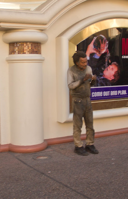 Las Vegas street guy