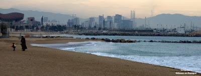 plage Barcelonte Barcelona