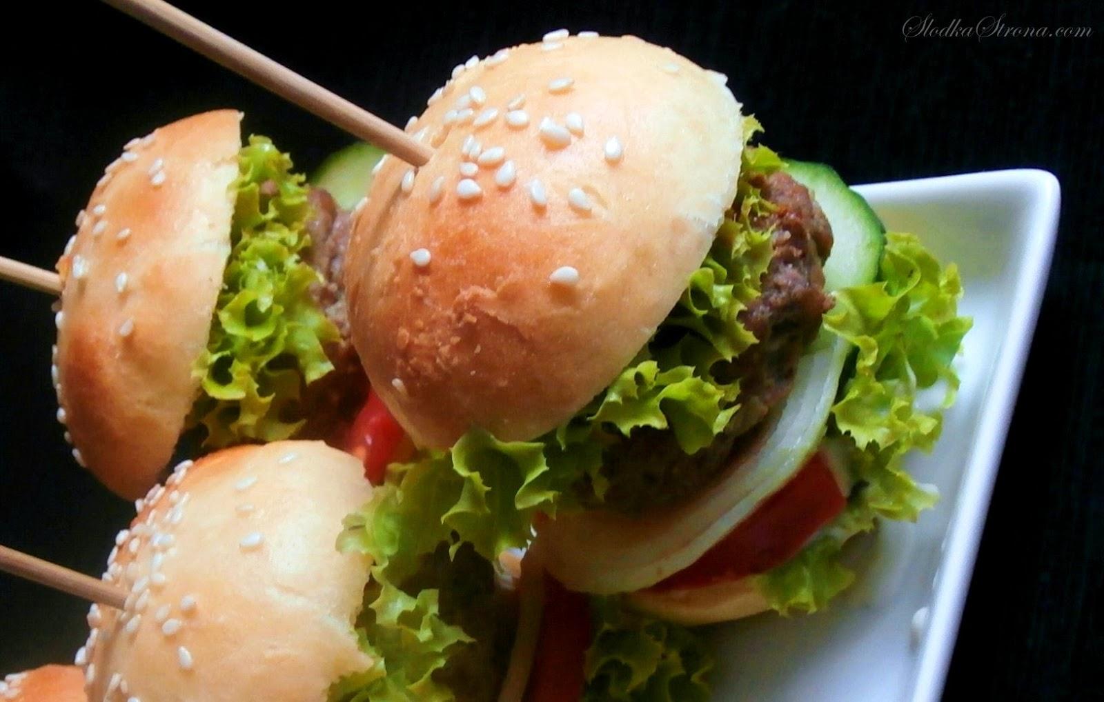 Mini Hamburgery - Słodka Strona - Przepis