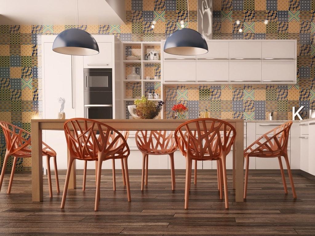 Ideas de revestimientos para las paredes de la cocina - Azulejos de pared ...