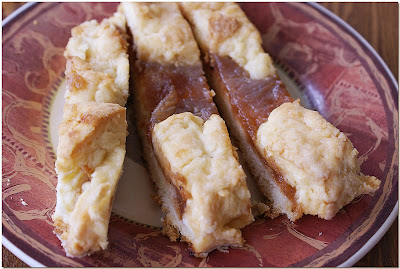 Apple Butter Lattice Coffee Cake