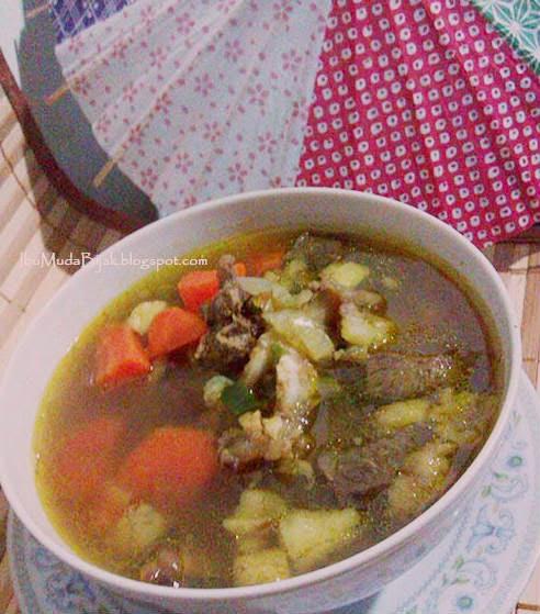 Resep makanan sop buntut sapi