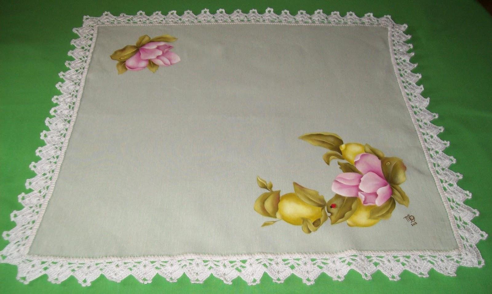 Flores individuales manteles para pintar mantel mesa for Manteles individuales de tela