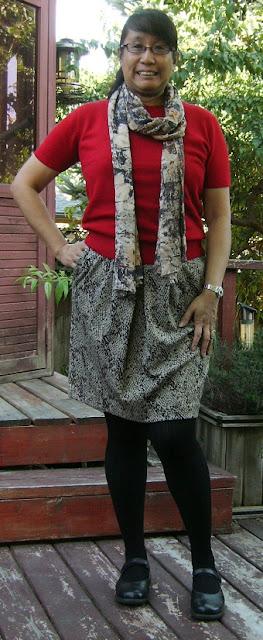 Pink Calico: Snake Skirt