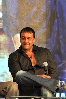 Sanjay at 'Department' movie press meet