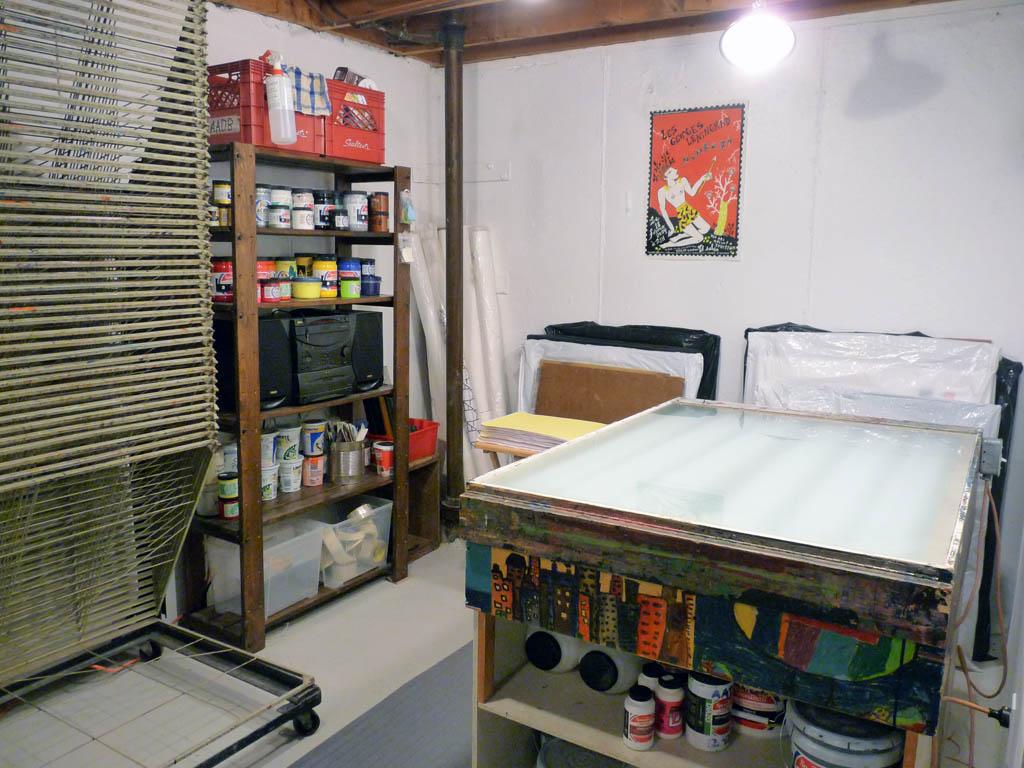 Le cahier virtuel am nagement de l 39 atelier d 39 impression - Amenager un garage en atelier ...